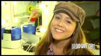 """Wicked"" Star Alli Mauzey Reveals How She Spends 'Glinda's Snack Time'"