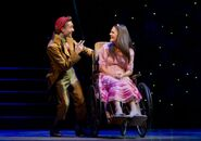 Catherine Charlebois as Nessarose & Michael Wartella as Boq