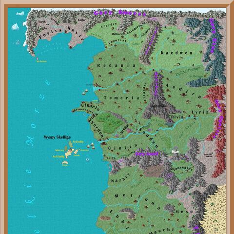 stara, przeskalowana wersja Mapy Orteliusa - linki do najnowszych wersji Mapy możesz znaleźć <a href=