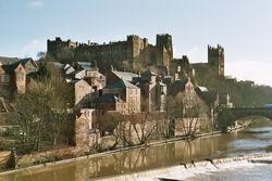 Zamek i katedra w Durham