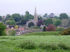 Castle Cary church