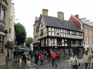 Oswestry - Historic buildings in town centre.jpg