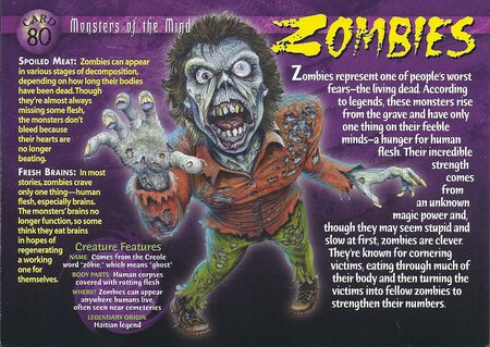 Zombies front