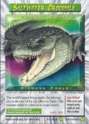 Saltwater Crocodile - Diamond