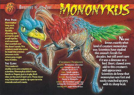 Mononykus front