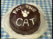 PattheCat'sNameonCake