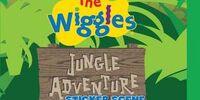 Jungle Adventure: Sticker Scene