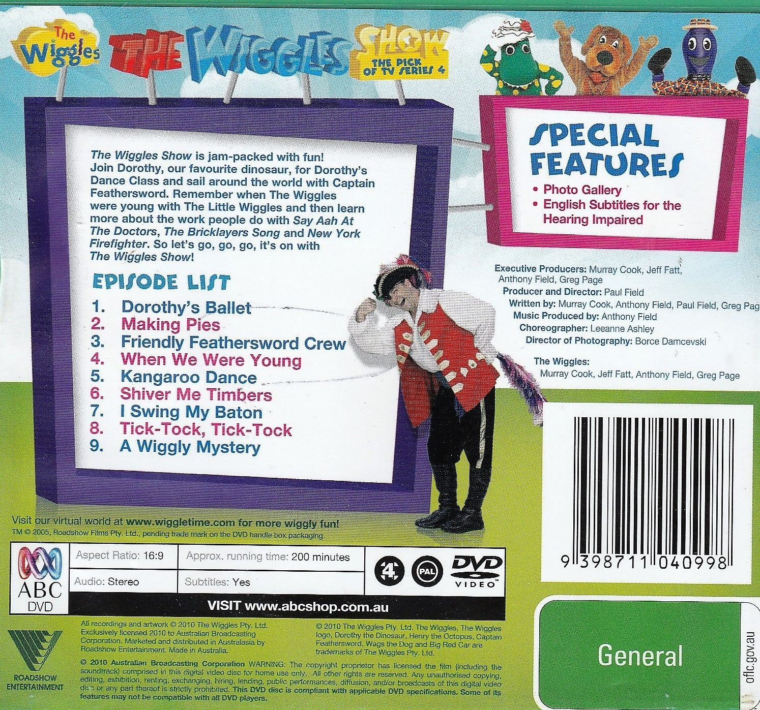 The Wiggles Show - The Pick Of TV Series 4