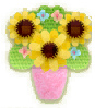 KEY Bouquet Vase sprite