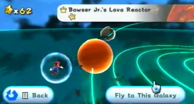 Bowser Jr.'s Lava Reactor