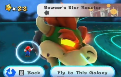 Bowser's Star Reactor