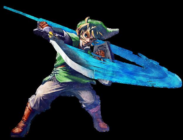 File:Link Artwork 3 (Skyward Sword).png