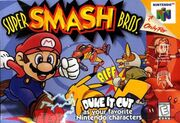 Super smash bros boxart