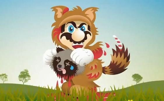 File:Mario Kills Tanooki (free advertising!).jpg