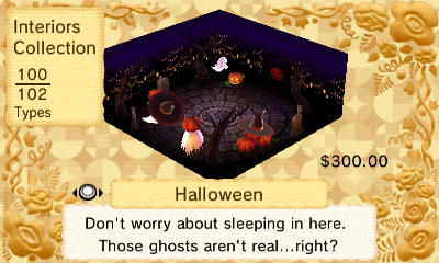 Halloween Interior