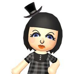 A female Mii