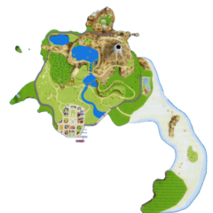 The Island Map