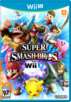 Boxart RP - Super Smash Bros. Wii U