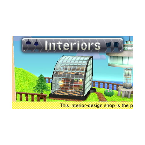 The Interiors Shop from Tomodachi Life