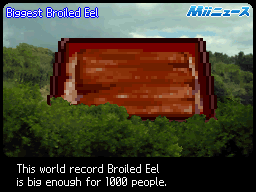 Biggest Broiled Eel