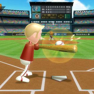 Gameplay screenshot of Baseball from a <i><a href=