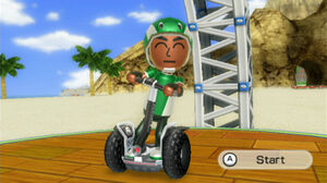 Wii Fit segway