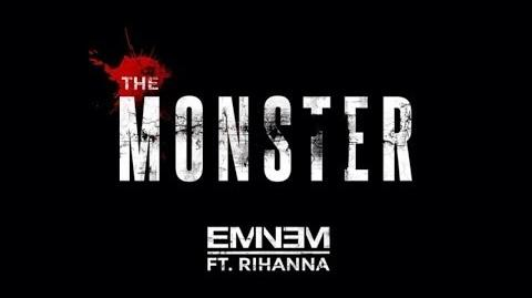 Eminem ft. Rihanna - The Monster (Clean Lyrics)