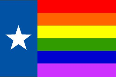 File:Gay Texas Flag GOP Republican anti-gay outlaw sodomy felony straight person to support same sex marriage hypocrisy bigotry politics.jpg
