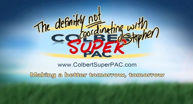 File:The definitely not coordinating with Stephen Colbert Super PAC.jpg