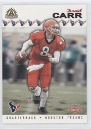 DavidCarr football Card