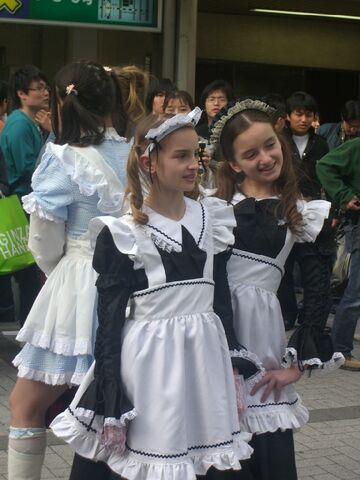 File:Gaijin Meido Cosplayers.jpg