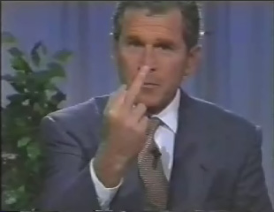 File:Bush middle finger.jpg