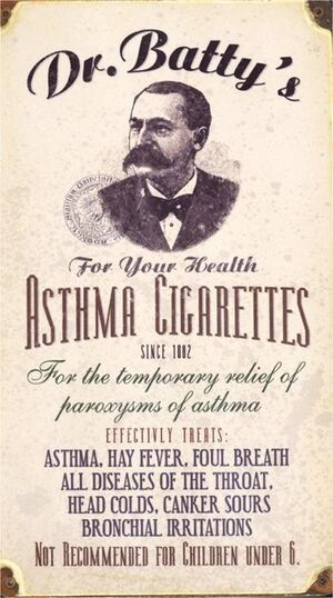 Asthmacigarettes
