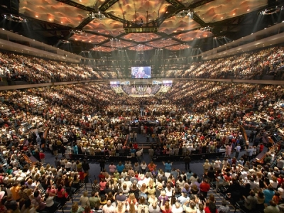 Houston'sLakewoodMegaChurch