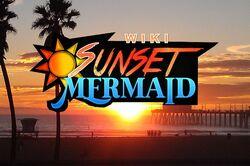 Sunset Mermaid Background