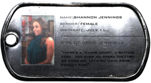 Shannon Jennnings ID