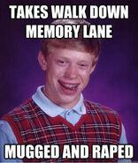 Never take a walk down memory lane