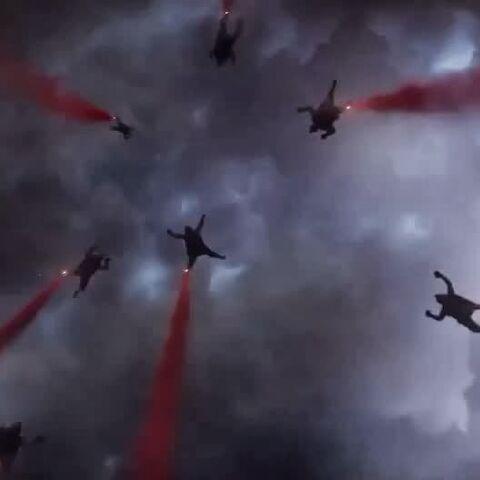 Kaijuzilla2000 Halo Jumps into San Francissco.
