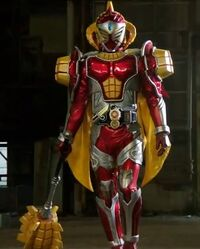 Kamen Rider Baron Mango Arms in Kamen Rider Gaim Episode 8