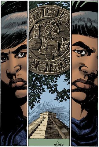 File:Mayan Hero Twins (Hunapu&Xbalanque).jpg