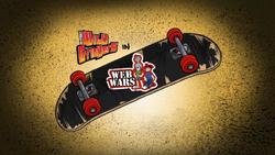 Web Wars Title Card