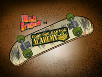 Good Dog, Bad Dog Academy Title Card