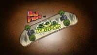 Survivored Title Card