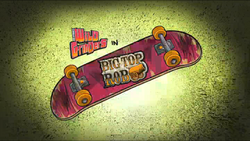 Big Top Rob Title Card