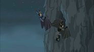 Bros Looking in Bat Roost