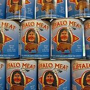 220px-Buffalo meat cans
