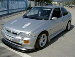 Ford Escort RS Cosworth silver