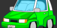 Vehicles in CAT! Comic