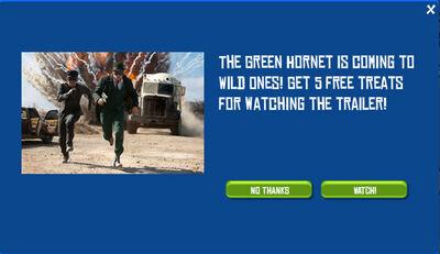 Wild Ones Green Hornet