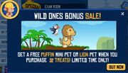Lion bonus sale